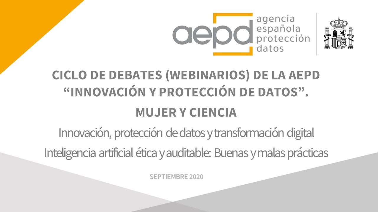 Webinario 'Innovación, protección de datos y salud (III)'